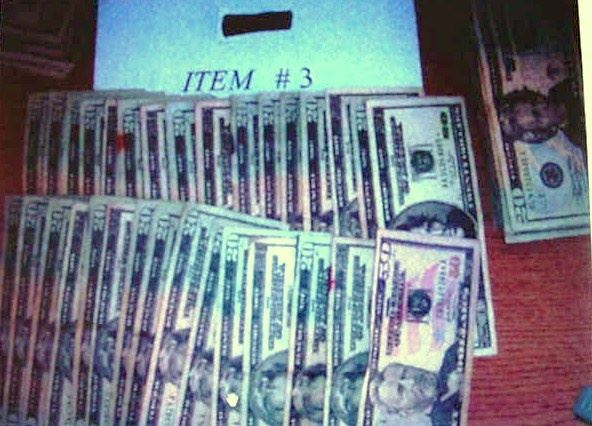 Money Confiscated In Actual Drug Bust 2